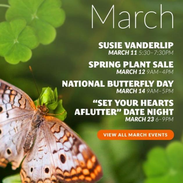 March Event Schedule