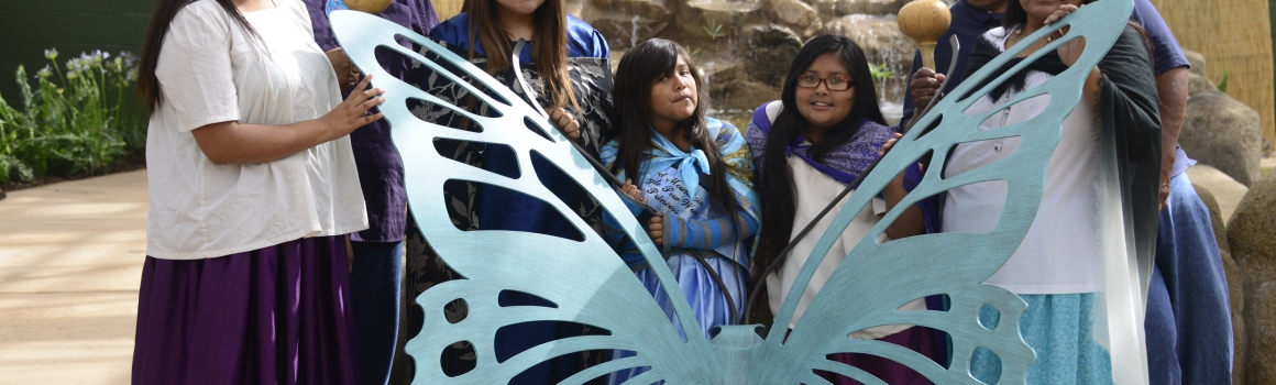 Native American Cultural Experience Days Return to Butterfly Wonderland!