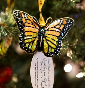 Holiday Ornaments in Buttterfly Treasures